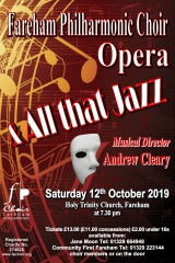 October 2019 - Jazz & Opera Choruses