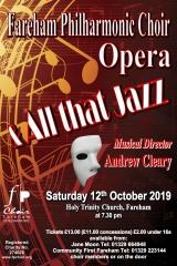 October 2019 - Jazz & Opera Choruses