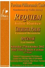 October 2012 - Rutter Requiem