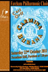 October 2011 - Carmina Burana