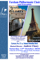 October 2018 - Durufle Requiem