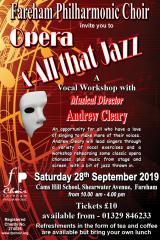 September 2019 - Workshop poster