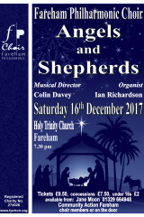 Christmas 2017 - Angels and Shepherds