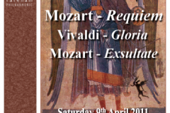 April 2011 - Mozart Requiem