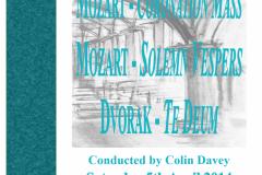 April 2014 - Mozart Coronation Mass