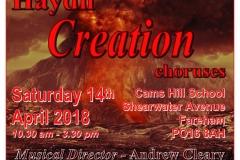 April 2018 - Choral workshop