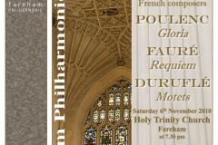 November 2010 - Faure Requiem